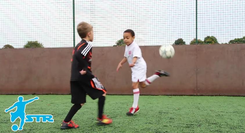 Trening umiejętności piłkarskich cz.2  [video] rainbow flick. #dlaTrenera