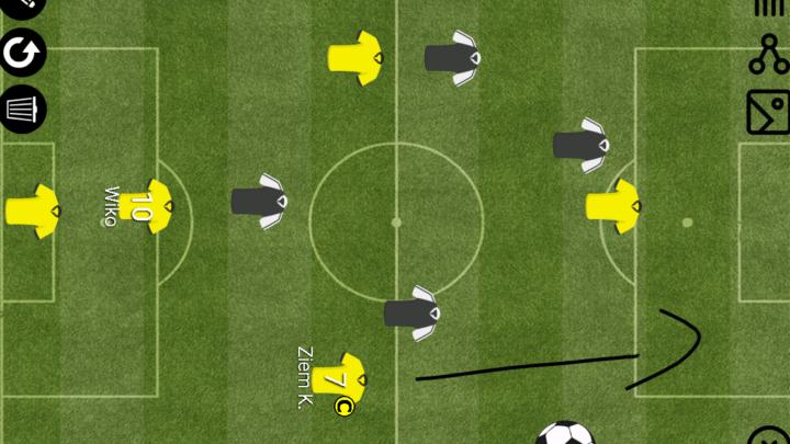 Tablica taktyczna na telefon. Niezbędnik trenera piłki nożnej. #dlaTrenera