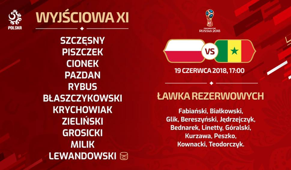 Mundial2018: Polska vs Senegal